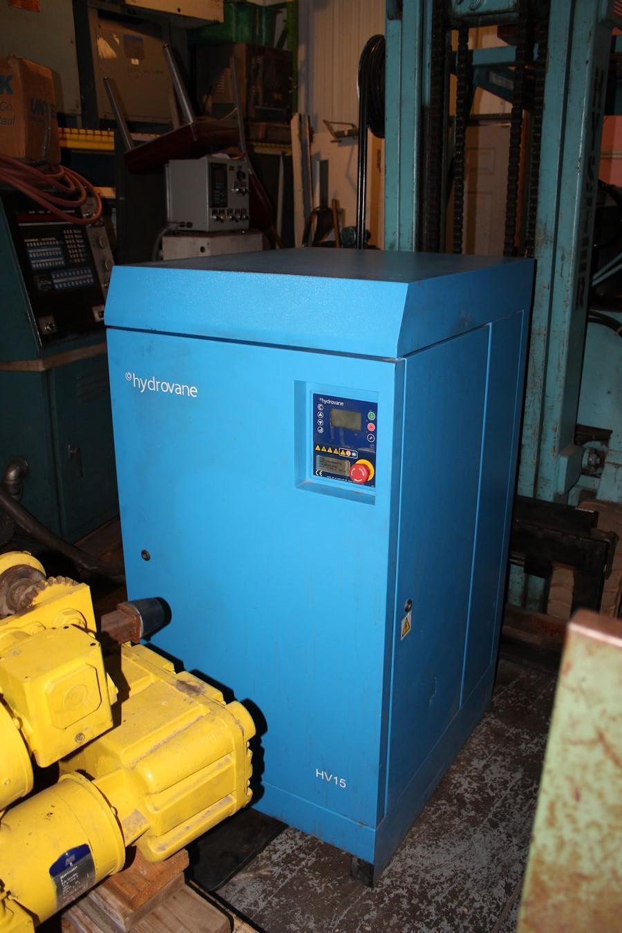 Model V15ACE08-2336D105, S# V15-000301-0703, Digital control, 15kw 1,760  rpm, Max bar 9, More info coming soon