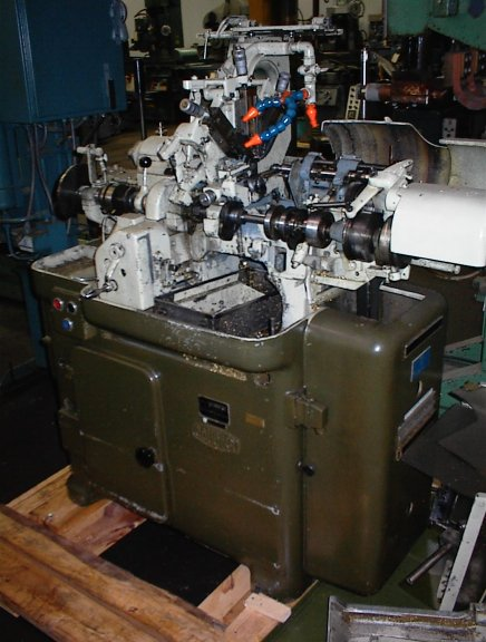 Gauthier Alfred Swiss Type Screw Machine