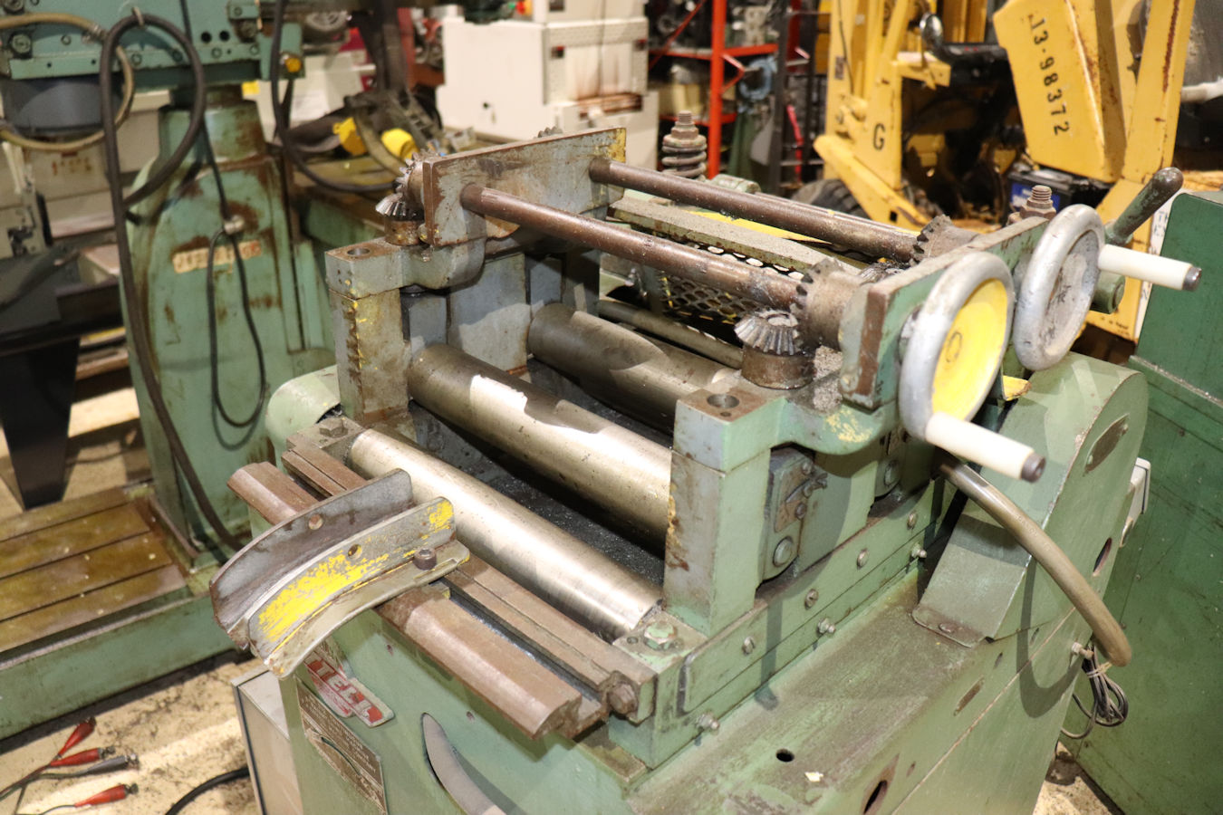 Coil Feeders - Straighteners   Inter-Plant Sales Machinery