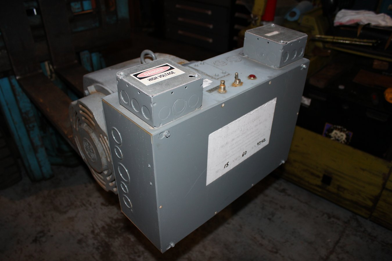 15 hp motor amps for 1 hp motor amps