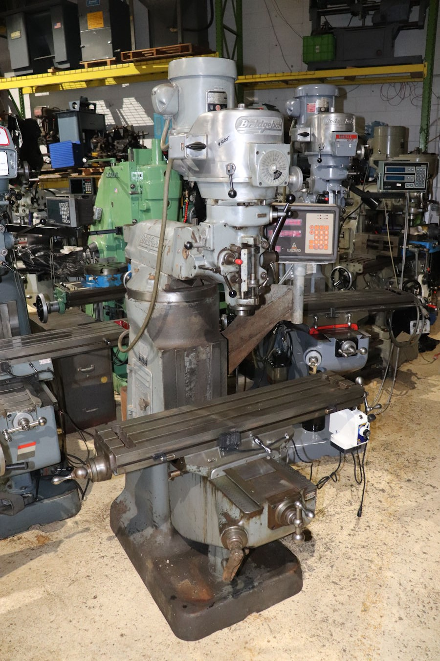 Bridgeport Mill For Sale >> Vertical Mills Inter Plant Sales Machinery