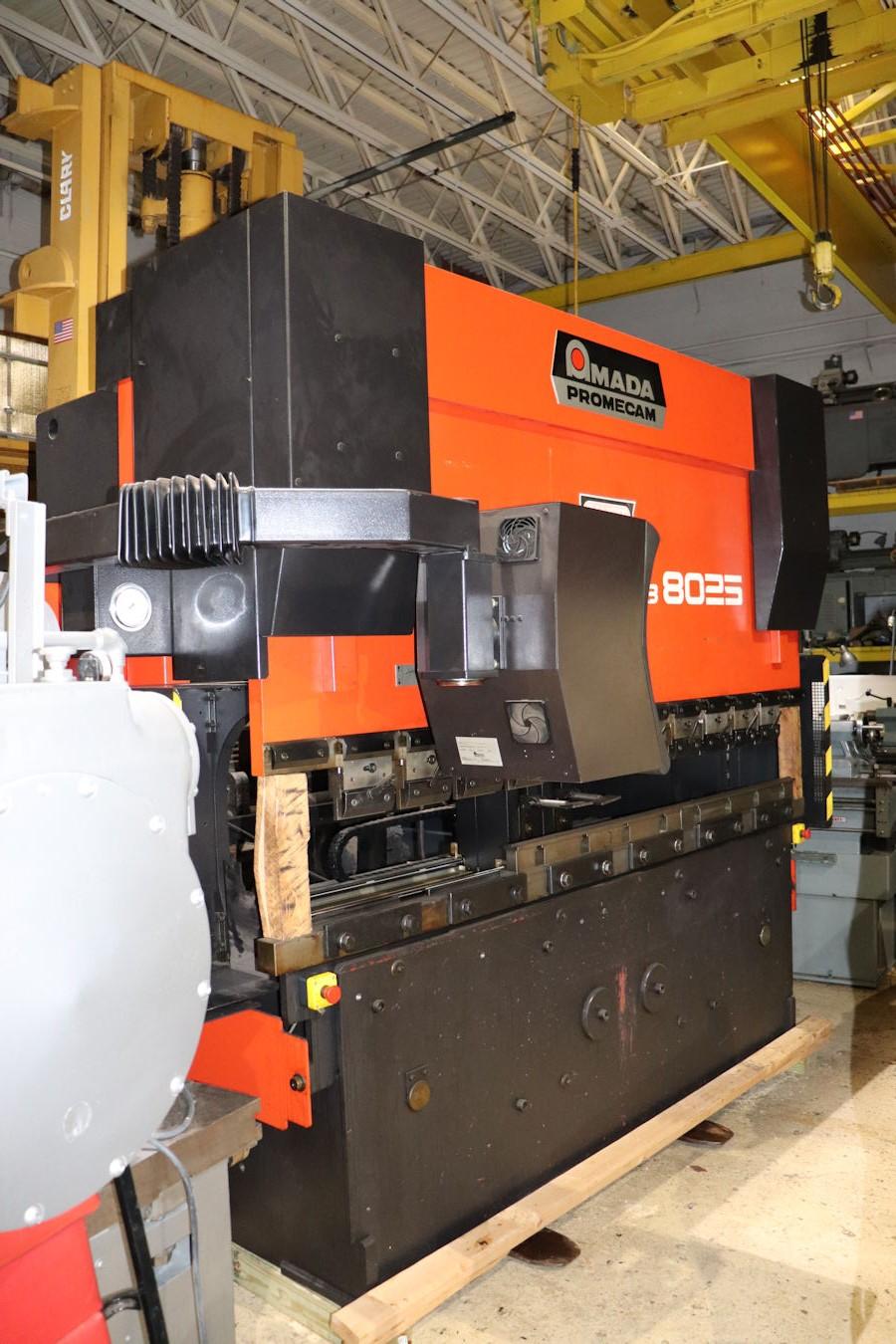 press brakes inter plant sales machinery rh interplantsales com Amada Shear Manual Amada Programing Press Break Manual HG 8025