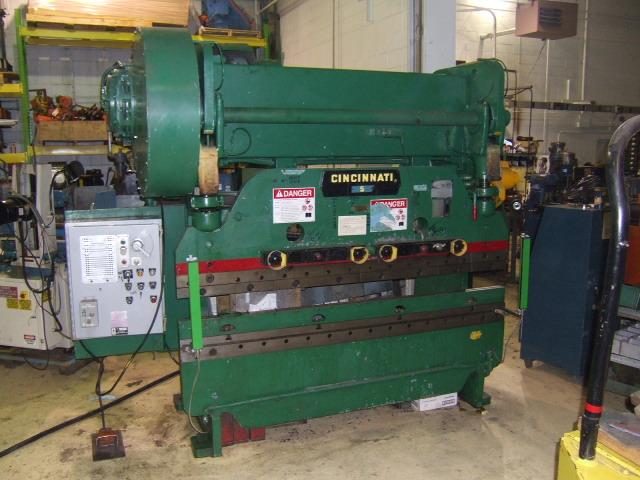 press brakes inter plant sales machinery rh interplantsales com Cincinnati Press Brake Chart Cincinnati Press Brake Programming