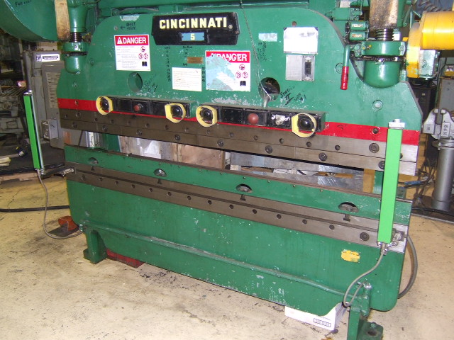 press brakes inter plant sales machinery rh interplantsales com Cincinnati Press Brake AutoForm 230 Pump Press Brake Axis