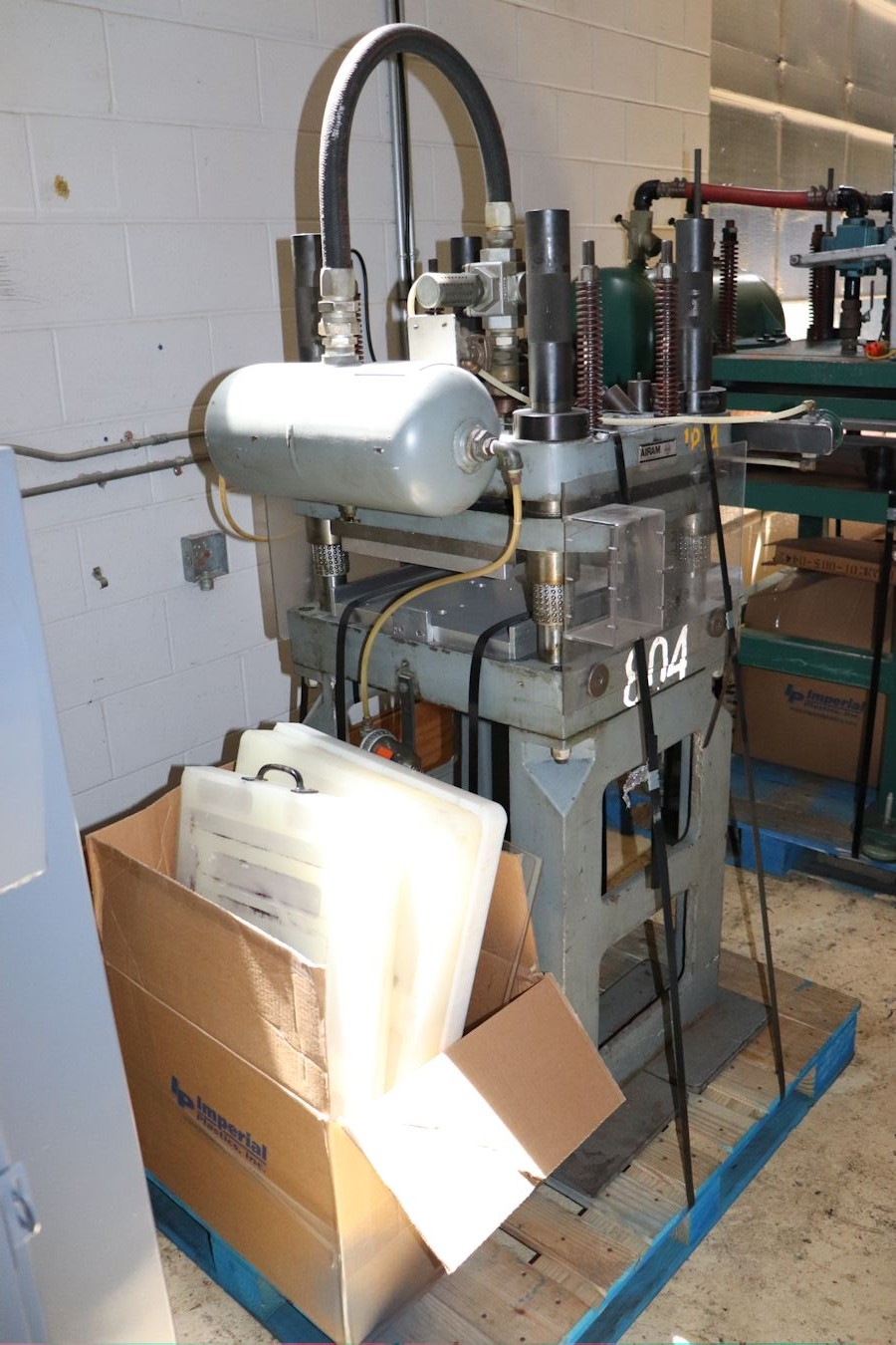 Hydraulic - Air Presses   Inter-Plant Sales Machinery