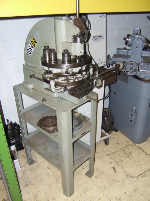 turret punch machines rotation