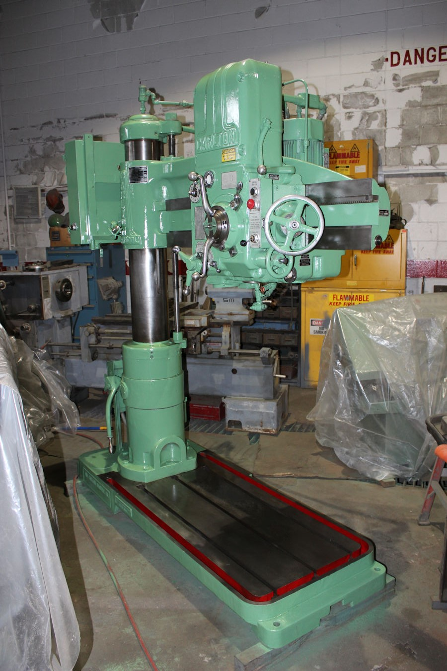 carlton 9 x 4 oa radial arm drill 1 8 to 2 5 capacity 10 to rh ebay com  Biggest Carlton Radial Drill Carlton Radial Arm Drill