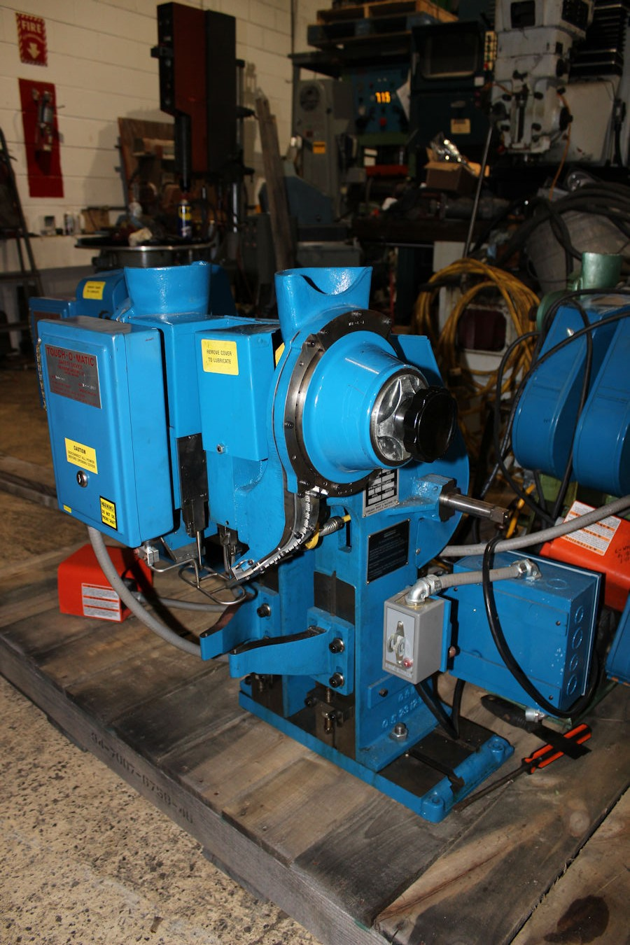 riveting machines | inter-plant sales machinery