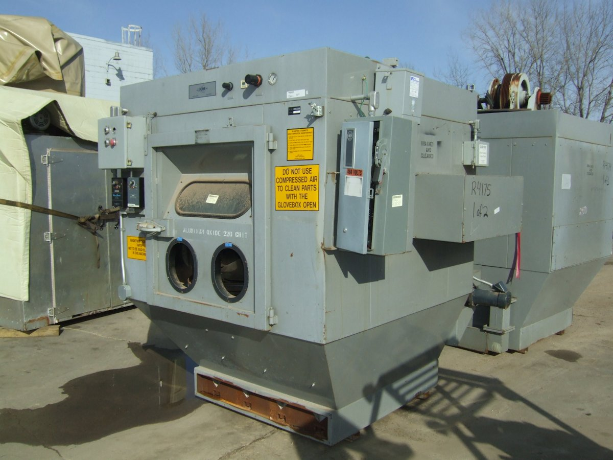 Sand Blasting Cabinets Sand Blasters Inter Plant Sales Machinery